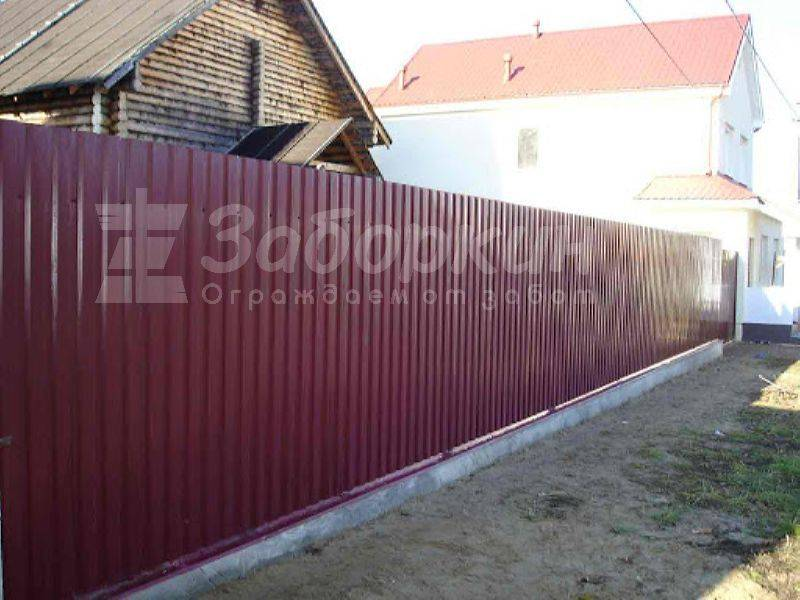 Заборы виды из бетона пирометр для бетона купить