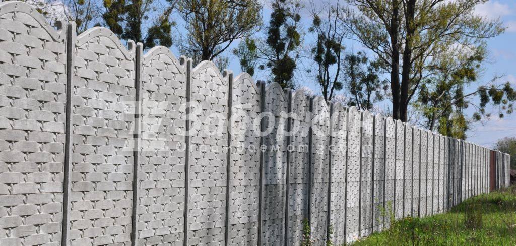 Купить забор из бетона в москве купить бетон в красноярске цена с доставкой от 1 куба